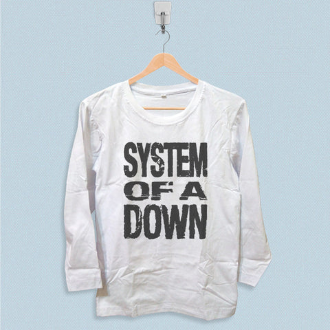Long Sleeve T-shirt - System of a Down Logo