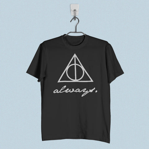 Men T-Shirt - The Deathly Hallows Logo Always