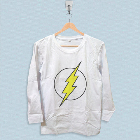 Long Sleeve T-shirt - The Flash Logo