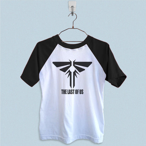 Raglan T-Shirt - The Last of Us Logo