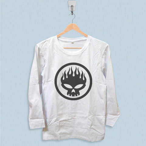 Long Sleeve T-shirt - The Offspring Skull Symbol