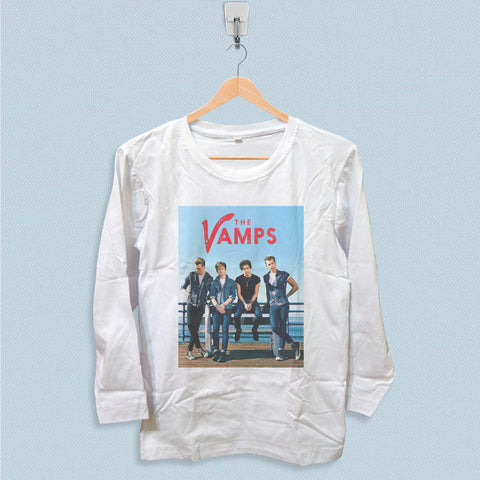 Long Sleeve T-shirt - The Vamps Band