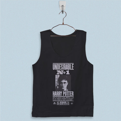 Men's Basic Tank Top - Undesirable Number 1 Harry Potter