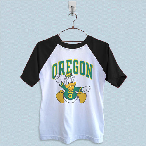Raglan T-Shirt - University of Oregon Ducks