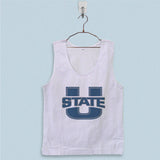 Men's Basic Tank Top - Utah State Football