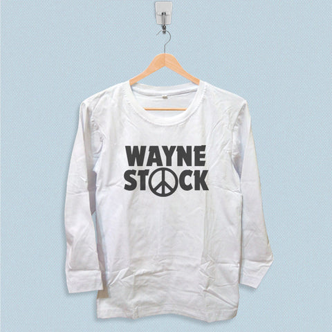 Long Sleeve T-shirt - Wayne Stock