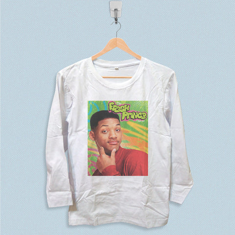 Long Sleeve T-shirt - Will Smith The Fresh Prince of Bel Air