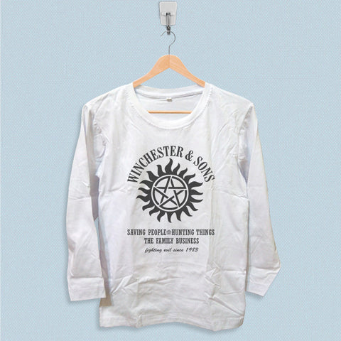 Long Sleeve T-shirt - Winchesters and Sons