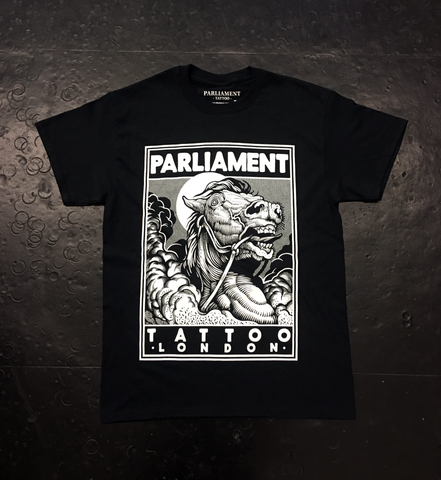 Mishla Illustration X Parliament Tattoo Exclusive T-Shirt