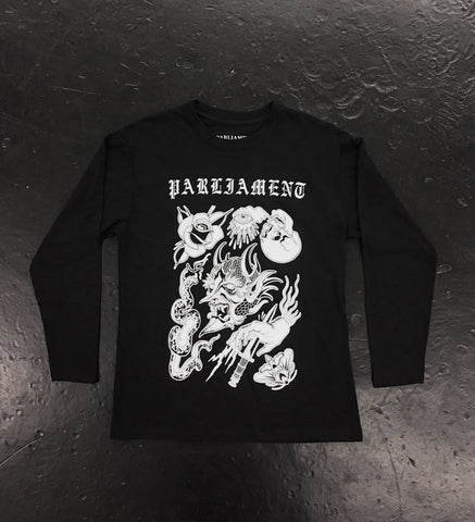 Parliament Tattoo Flash Long Sleeved Shirt