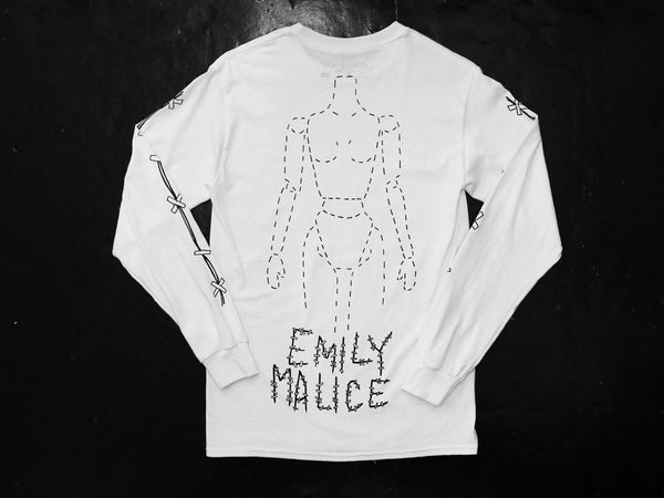 Emily Malice - Stitches Long Sleeve T-shirt