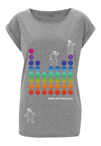 * ON SALE * Ladies grey 'Dancing Bears' t-shirt