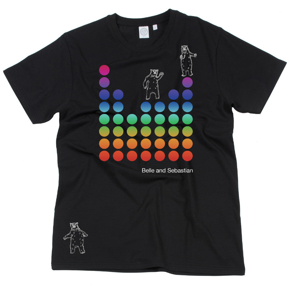 Men's black 'Dancing Bears' t-shirt