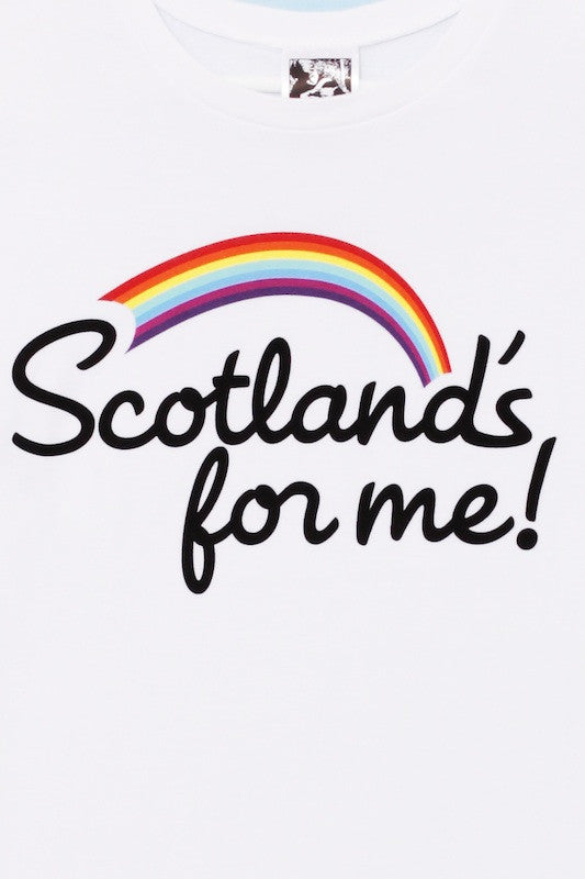 Ladies 'Scotland's For Me' t-shirt