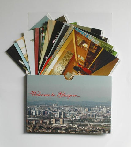 Postcard Set 'Toast to Glasgow'