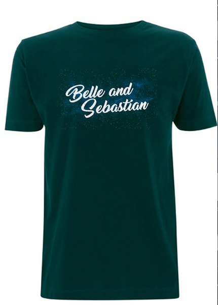 * ON SALE * Men's Bottle Green Space T-Shirt