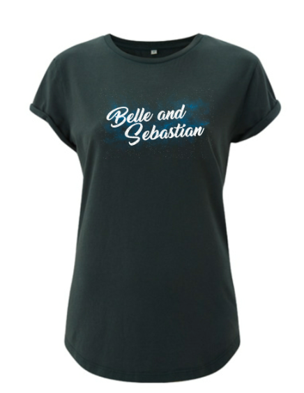 Ladies Bottle Green 'Space' T-Shirt