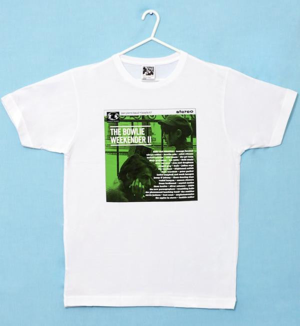 Men's white 'Bowlie 2' t-shirt
