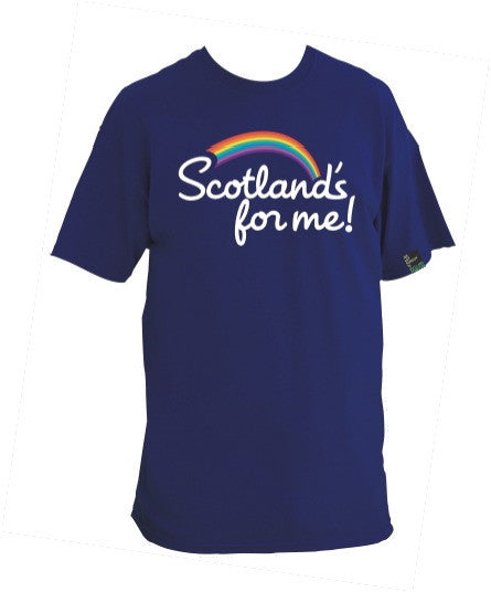 Men's 'Scotland's For Me' t-shirt
