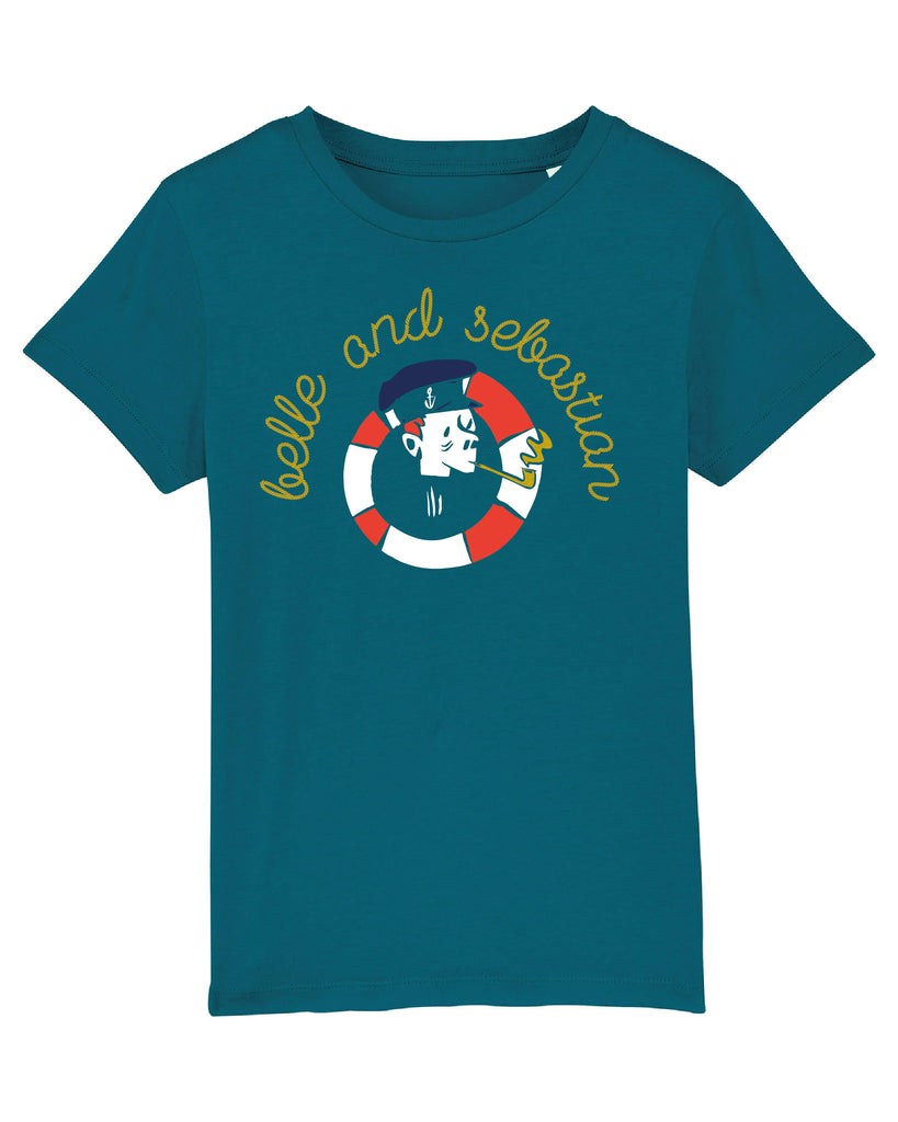 Kids Green 'Sailor' T- Shirt