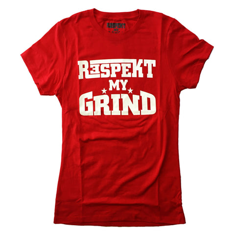 Womans Red/White print RMG T's