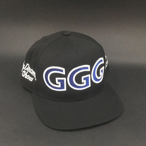 Black White and Royal Snapback