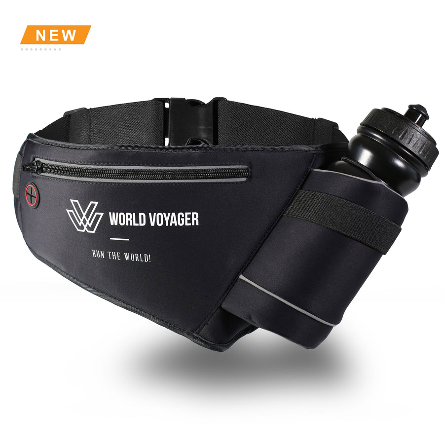 World Voyager Runners Hydration Belt - Single Bottle