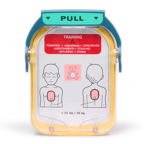 Coppia di elettrodi Training pediatriche per defibrillatore Philips HS1 e Trainer HS1