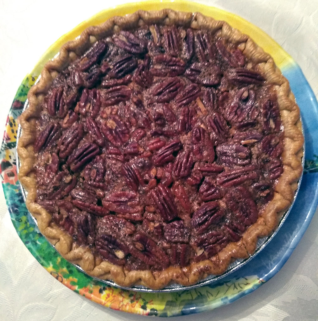 Glen and Debbie's Deep Dish Pecan Pie
