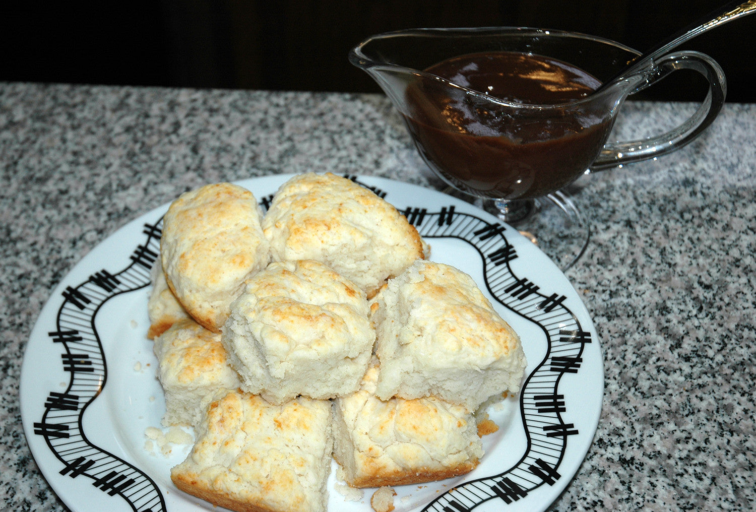 Meeting Isaac Hayes - Angel Biscuits with Chocolate Gravy