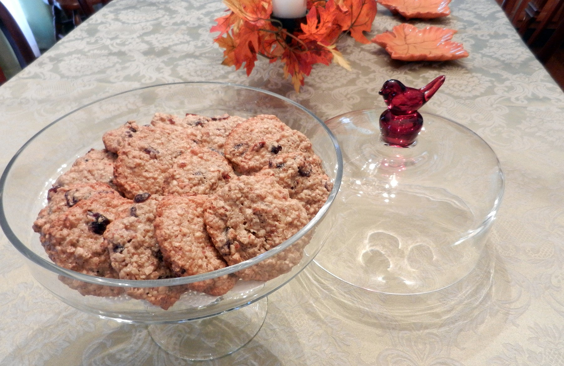 Sweet Tooth - Almond Oatmeal Cranberry Cookies