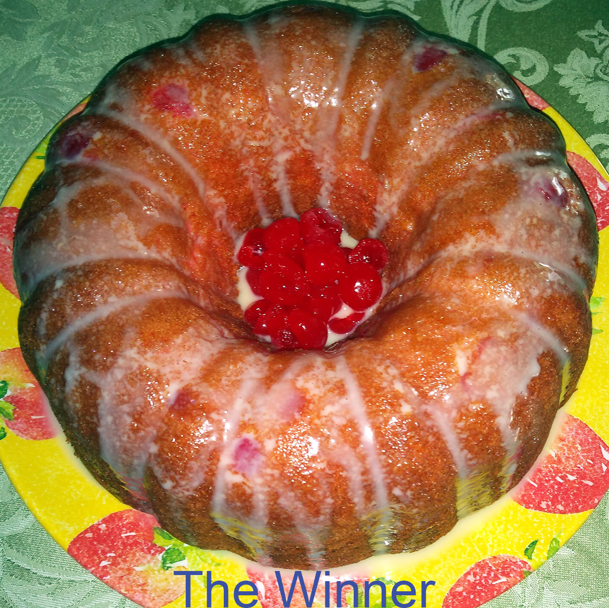 Bundt Cake for Valentine's Day