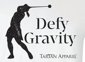 Tartan Apparel Female Hammer Throw Defy Gravity