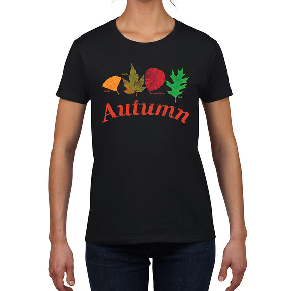 Tartan Apparel Autumn T-Shirt in Black