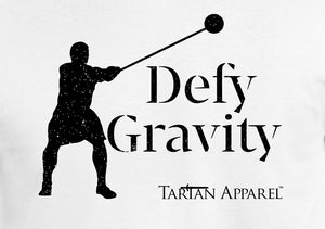 Tartan Apparel Male Hammer Throw Defy Gravity