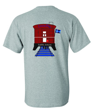 Tartan Apparel Train T-Shirt For Kids - T-Shirt