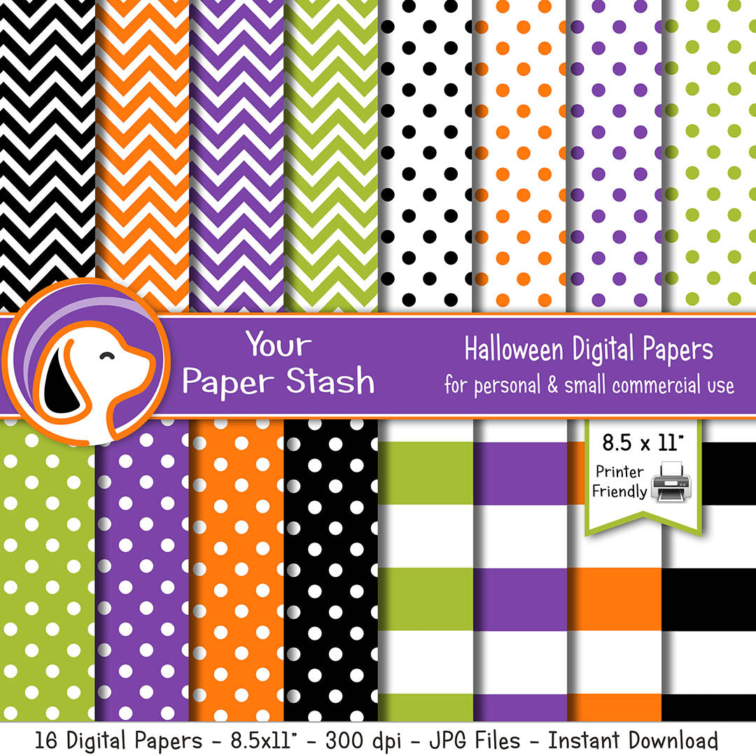 orange green purple halloween backgrounds