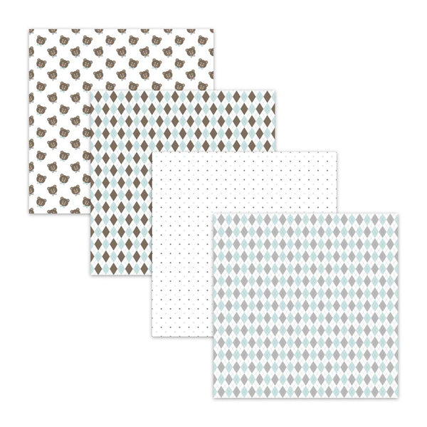 teddy bear backgrounds argyle digital paper polka dot patterns