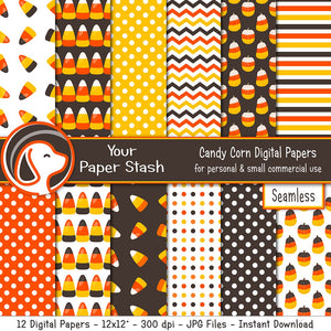candy corn halloween digital scrapbook paper fun kids scrapbook craft pages supplies create