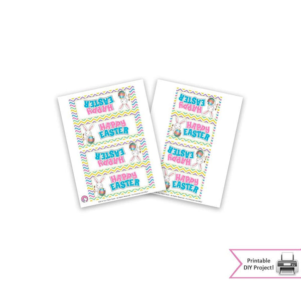 easter bunny printable party favor bags