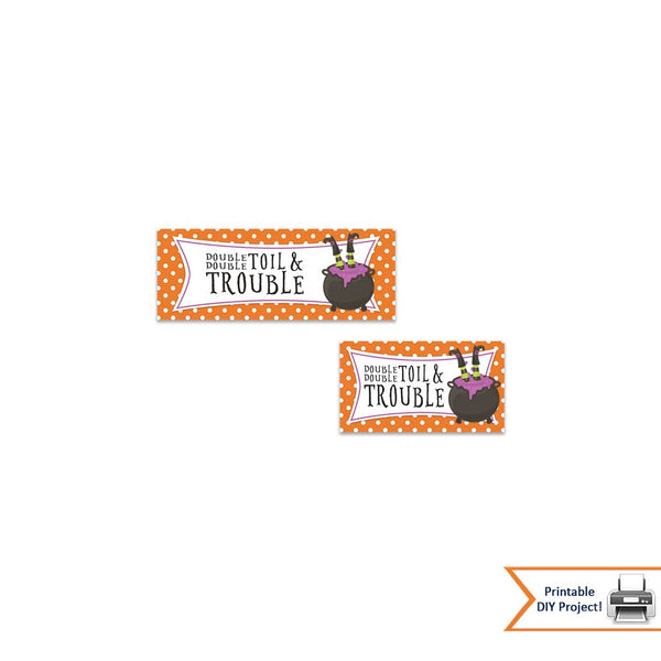 candy bag treat bag printable toppers