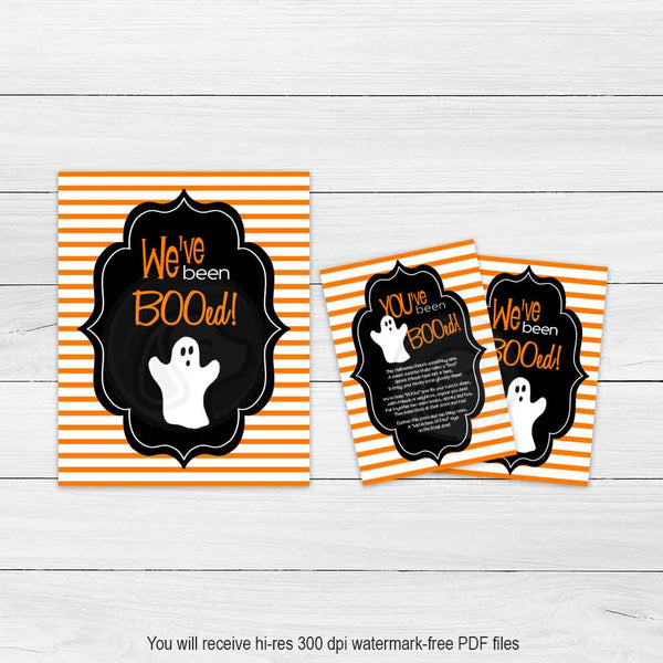 printable halloween boo sign we've been booed boo game halloween printables