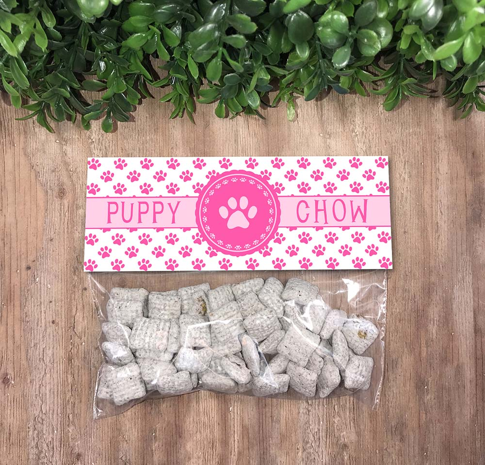 puppy chow bag toppers