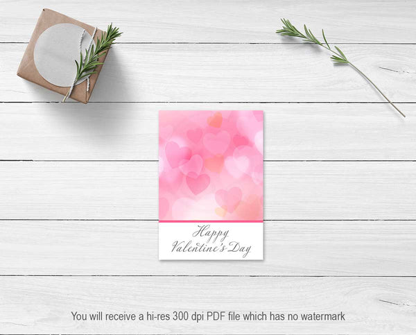 printable valentine card