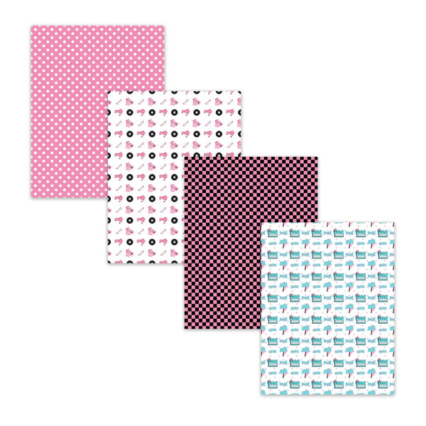 sock hop dance backgrounds, checkerboard patterns