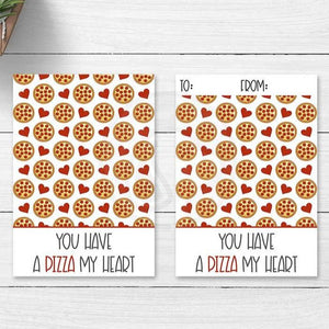 valentine pizza my heart printable cookie card tag note cards gift tags classroom party cookies baking supplies classroom party ideas kids crafts