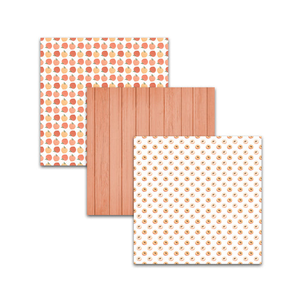 peach wood textured paper