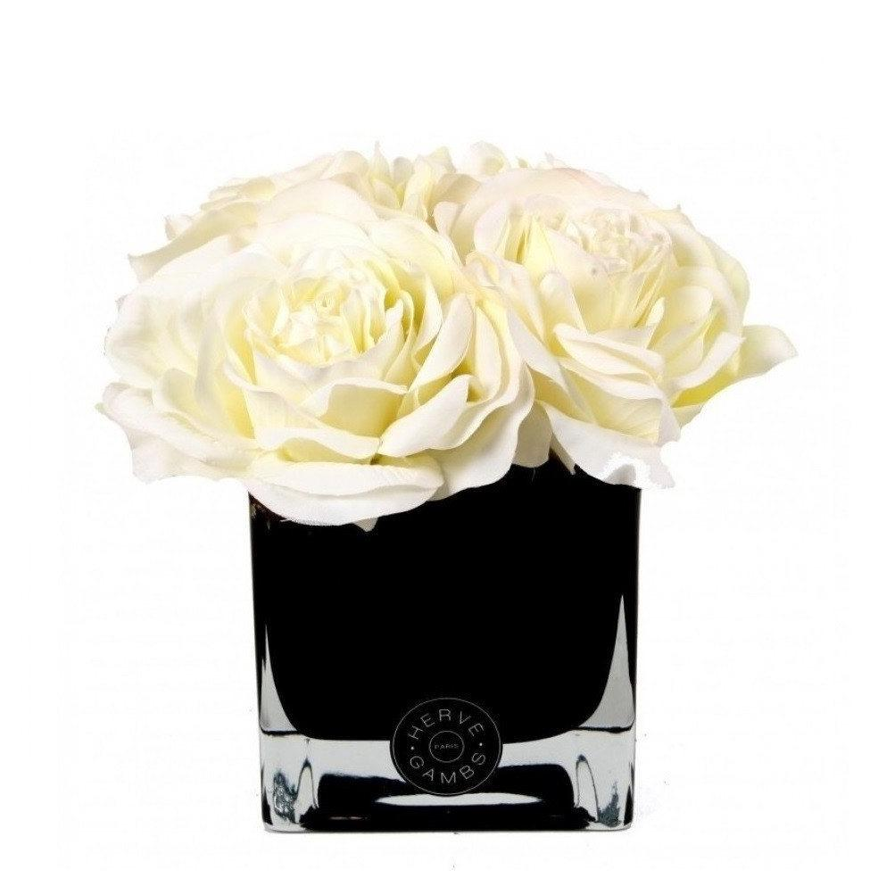 Four White Roses (Large) - Scent City