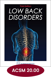 Low Back Disorders CE Course Third Edition