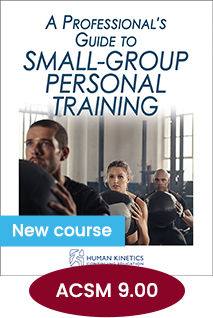 A Professionals Guide to Small-Group Personal Training